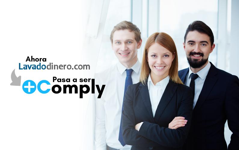 Ahora Lavadodinero.com pasa a ser Plus Comply