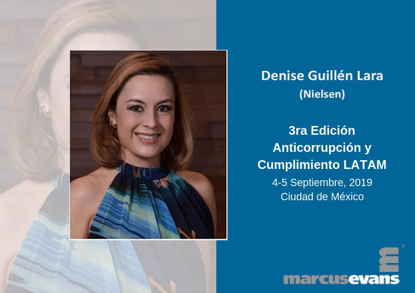 Vicepresidenta de Nielsen en la 3ra Edición Anticorrupción y Cumplimiento LATAM – Entrevista