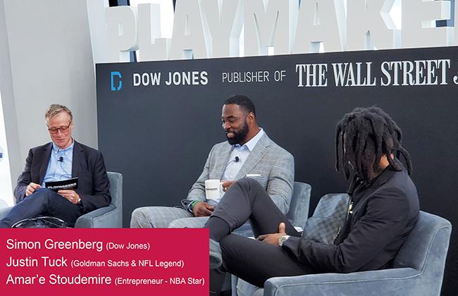 Dow Jones reúne a exitosos empresarios del mundo deportivo