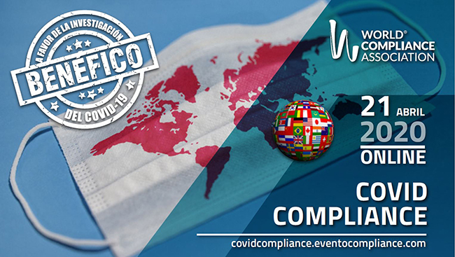 World Compliance Association celebra congreso online a favor de la lucha contra el COVID-19