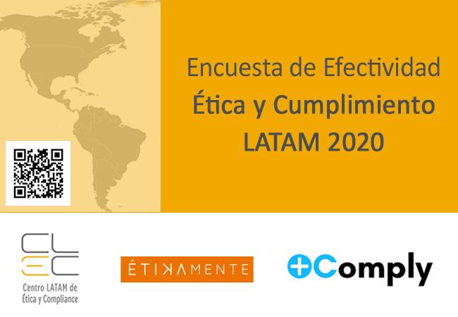 Encuesta de efectividad – Ética y Cumplimiento en LATAM 2020